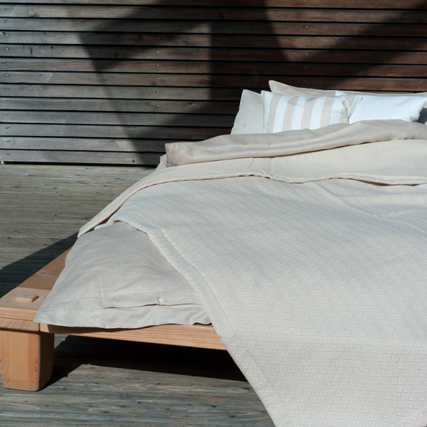 Bettüberwurf Schwedenstern